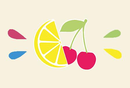 Boisson étudiante aux arômes naturel citron et cerise