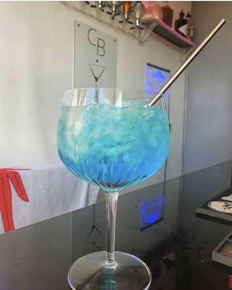 Cocktail Chibre Bleu - Vodka Templar