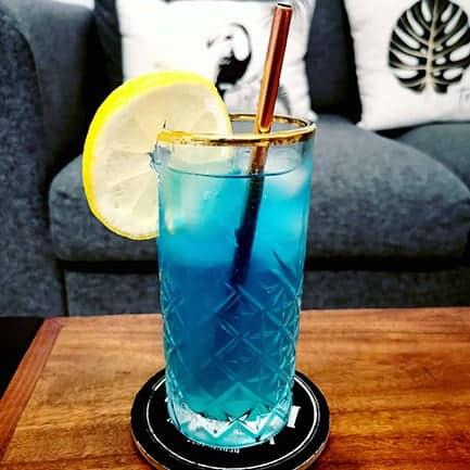 Cocktail alcool soirée Chibre Bleu apéro